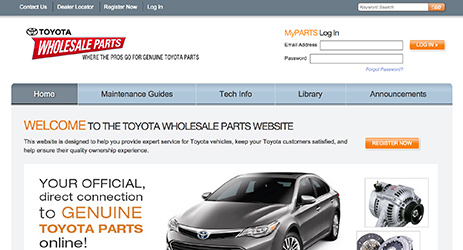 Toyota Parts and Services
